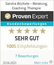 Erfahrungen & Bewertungen zu Sandra Büchele - Beratung, Coaching, Therapie